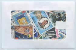 SPACE -  75 ASSORTED STAMPS - SPACE