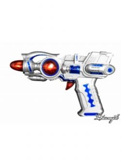 SPACE -  GALAXY GUN - SILVER