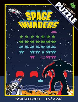 SPACE INVADERS -  SPACE INVADERS PUZZLE (550 PIECES)