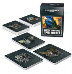 SPACE MARINES -  DATACARDS (FRENCH)
