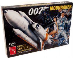 SPACE SHUTTLE -  MOONRAKER - JAMES BOND - 1/200