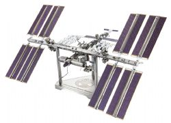 SPACE VEHICLES -  INTERNATIONAL SPACE STATION - 3 SHEETS