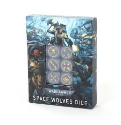 SPACE WOLVES -  DICE SET