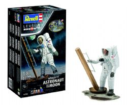 SPACESHIP -  APOLLO 11 ASTRONAUT ON THE MOON 1/8 (SKILL LEVEL 4 - CHALLENGING)