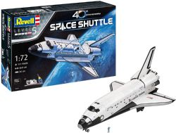 SPACESHIP -  SPACE SHUTTLE 40TH ANNIVERSARY 1/72  (SKILL LEVEL 5 - CHALLENGING)