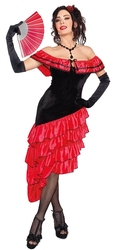 SPAIN -  SPANISH DANCER LADY COSTUME (ADULT)