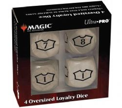 SPECIAL DICE -  OVERSIZED LOYALTY DICE SET: PLAINS (4 PIECES)