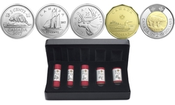 SPECIAL WRAP ROLL SETS -  2017 CLASSIC CANADIAN COINS -  2017 CANADIAN COINS 02