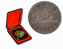 SPECIMEN DOLLARS -  VOYAGEUR DESIGN -  1972 CANADIAN COINS 02
