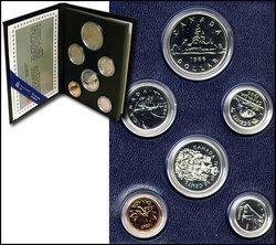 SPECIMEN SETS -  1986 SPECIMEN SET -  1986 CANADIAN COINS 06