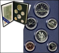 SPECIMEN SETS -  1987 SPECIMEN SET -  1987 CANADIAN COINS 07