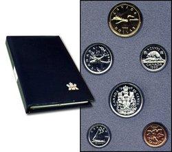 SPECIMEN SETS -  1989 SPECIMEN SET -  1989 CANADIAN COINS 09