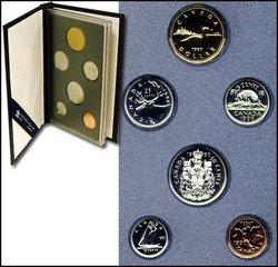 SPECIMEN SETS -  1990 SPECIMEN SET -  1990 CANADIAN COINS 10