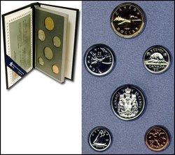 SPECIMEN SETS -  1991 SPECIMEN SET -  1991 CANADIAN COINS 11