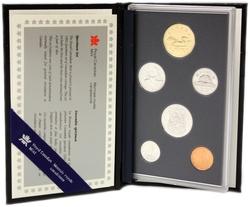 SPECIMEN SETS -  1992 SPECIMEN SET -  1992 CANADIAN COINS 12