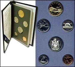 SPECIMEN SETS -  1993 SPECIMEN SET -  1993 CANADIAN COINS 13