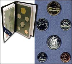 SPECIMEN SETS -  1994 SPECIMEN SET -  1994 CANADIAN COINS 14