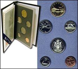 SPECIMEN SETS -  1995 SPECIMEN SET -  1995 CANADIAN COINS 15