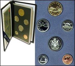 SPECIMEN SETS -  1996 SPECIMEN SET -  1996 CANADIAN COINS 16