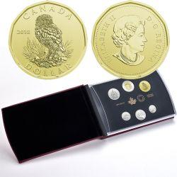 SPECIMEN SETS -  BURROWING OWL - SET OF 6 COINS -  2018 CANADIAN COINS 38