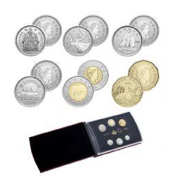 SPECIMEN SETS -  ENDANGERED SPECIES: BLACK-FOOTED FERRET - SET OF 6 COINS -  2020 CANADIAN COINS 40