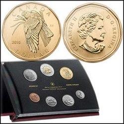 SPECIMEN SETS -  NORTHERN HARRIER - 2010 SPECIMEN SET -  2010 CANADIAN COINS 30