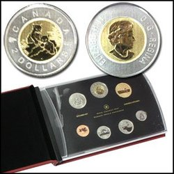 SPECIMEN SETS (YOUNG WILDLIFE) -  YOUNG LYNX - 2010 SPECIMEN SET -  2010 CANADIAN COINS 01