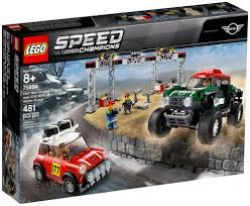 SPEED CHAMPIONS -  1967 MINI COOPER S RALLY AND 2018 MINI JOHN COOPER WORKS BUGGY (481 PIECES) 75894