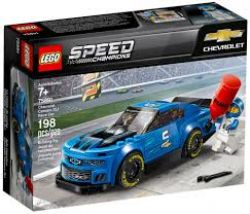 SPEED CHAMPIONS -  CHEVROLET CAMARO ZL1 RACE CAR (198 PIECES) 75891