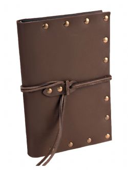 SPELLBOOK -  SIMPLE SPELLBOOK - BROWN (SMALL)