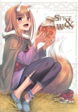 SPICE AND WOLF -  KEITO KOUME ILLUSTRATIONS SPICE & WOLF: THE TENTH YEAR CALVADOS (ENGLISH V.)