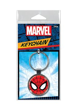 SPIDER-MAN -  FACE KEYCHAIN