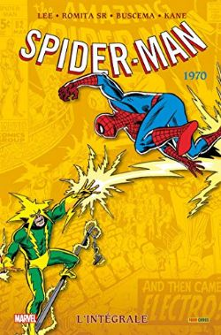 SPIDER-MAN -  INTÉGRALE 1970 (AMAZING SPIDER-MAN) (ÉDITION 2020)