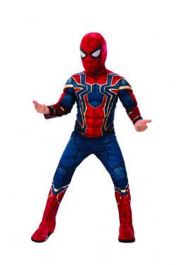 SPIDER-MAN -  IRON SPIDER COSTUME (CHILD)