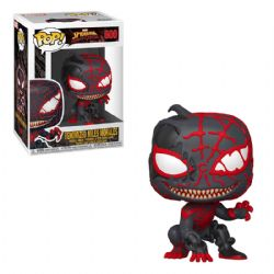 SPIDER-MAN : MAXIMUM VENOM -  POP! VINYL BOBBLE-HEAD OF VENOMIZED MILES MORALES (4 INCH) 600
