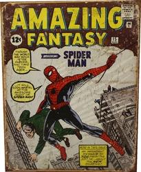 SPIDER-MAN -  METAL POSTER