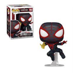 SPIDER-MAN -  POP! VINYL BOBBLE-HEAD OF MILES MORALES CLASSIC SUIT (4 INCH) -  SPIDER-MAN : MILES MORALES 765