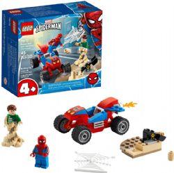 SPIDER-MAN -  SPIDER-MAN AND SANDMAN SHOWDOWN (45 PIECES) 76172