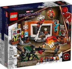 SPIDER-MAN -  SPIDER-MAN AT THE SANCTUM WORKSHOP (355 PIECES) 76185