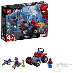 SPIDER-MAN -  SPIDER-MAN CAR CHASE (52 PIECES) 76133