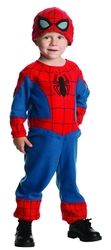 SPIDER-MAN -  SPIDER-MAN COSTUME (TODDLER - X-SMALL 1-2 YEARS)