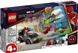 SPIDER-MAN -  SPIDER-MAN VS MYSTERIO'S DRONE (73 PIECES) 76184