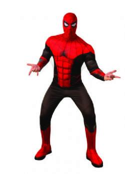 SPIDERMAN -  SPIDERMAN COSTUME (ADULT)