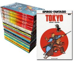 SPIROU AND FANTASIO -  COLLECTION 54 ALBUMS