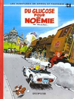 SPIROU AND FANTASIO -  USED BOOK - DU GLUCOSE POUR NOEMIE (FRENCH) 21