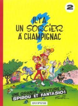 SPIROU AND FANTASIO -  USED BOOK - IL Y A UN SORCIER À CHAMPIGNAC (FRENCH) 02