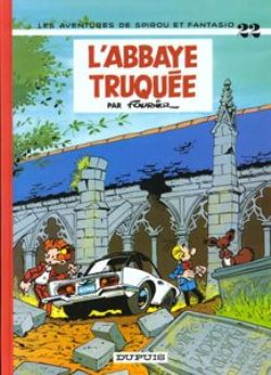 SPIROU AND FANTASIO -  USED BOOK - L'ABBAYE TRUQUEE (FRENCH) 22