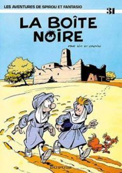 SPIROU AND FANTASIO -  USED BOOK - LA BOÎTE NOIRE (FRENCH) 31