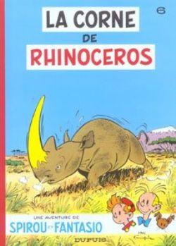 SPIROU AND FANTASIO -  USED BOOK - LA CORNE DU RHINOCEROS (FRENCH) 06