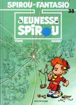 SPIROU AND FANTASIO -  USED BOOK - LA JEUNESSE DE SPIROU (FRENCH) 38